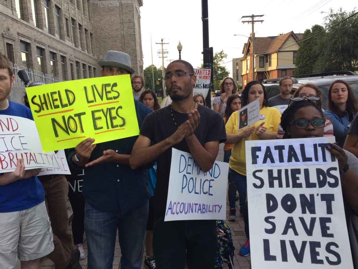 Protesters in Bridgeport demand police accountability after fatal shooting by Bridgeport police