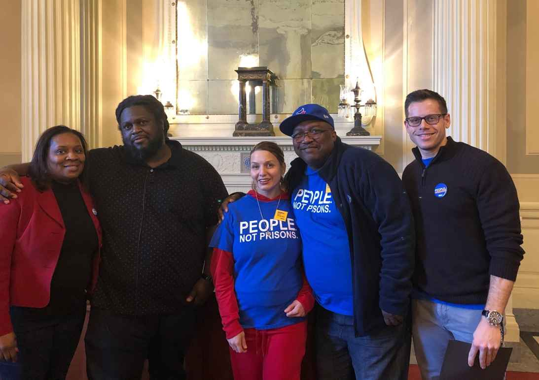 ACLU Smart Justice Connecticut CT leaders at criminal justice reform meeting in Hartford