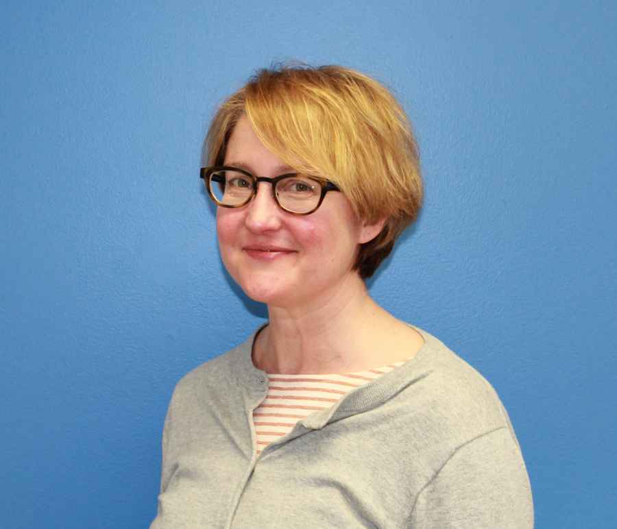 Photo of Laura Brownstein, development director for the ACLU of Connecticut (ACLU-CT